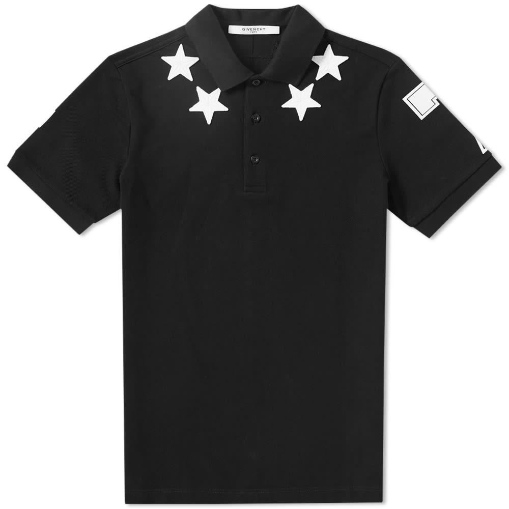 0ac31e36 Givenchy Stars Polo Black & White | END.