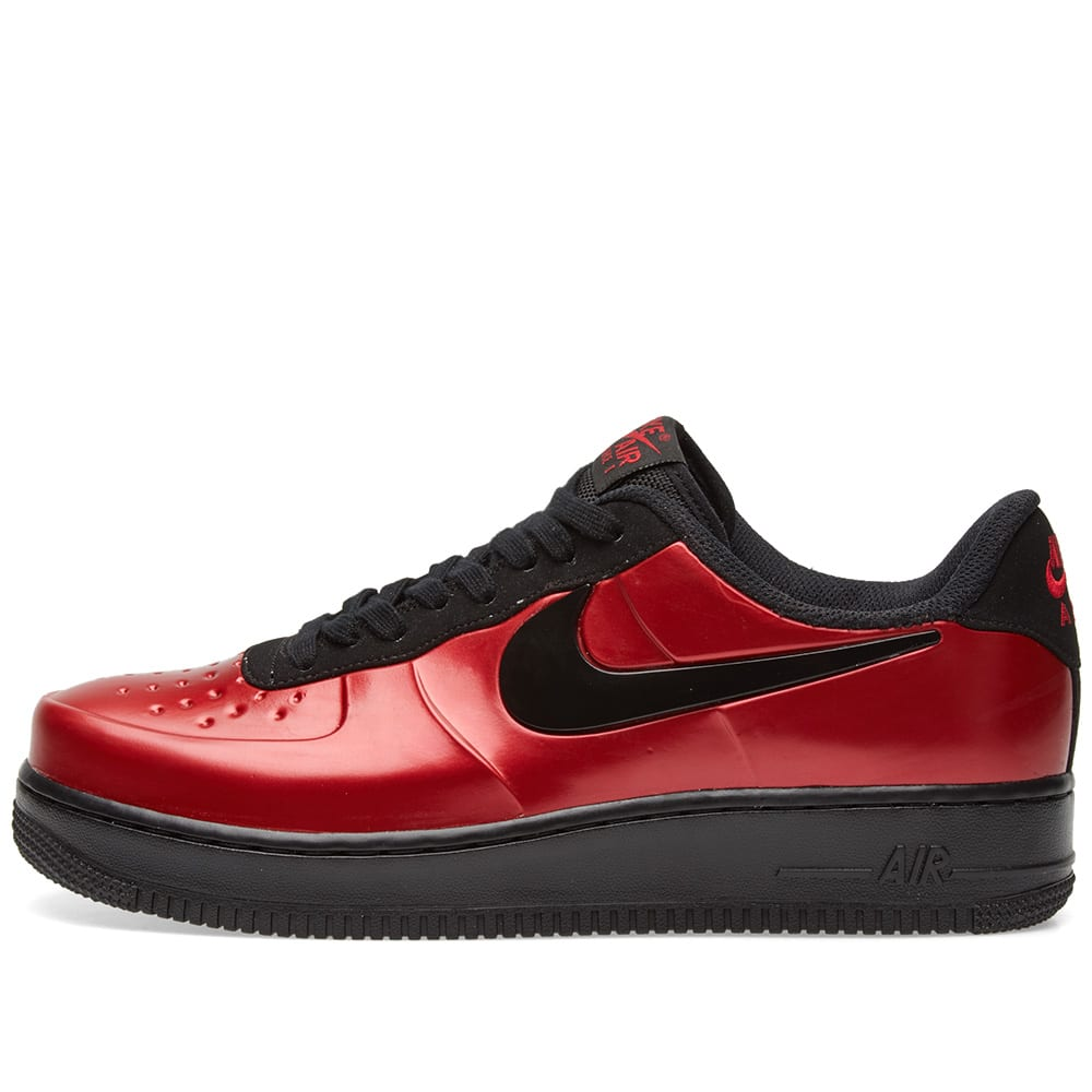 50ddcce613f Nike Air Force 1 Foamposite Pro Cupsole Gym Red   Black