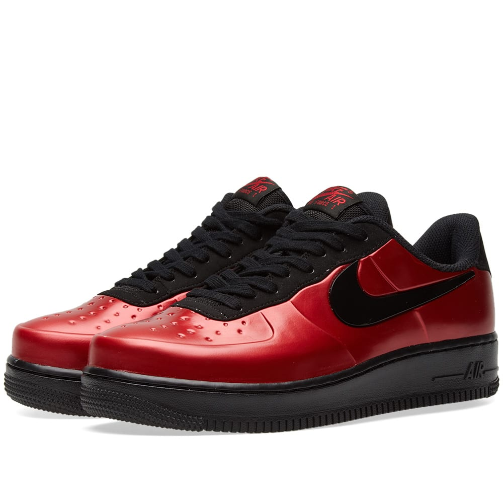 more photos 3619e 4bd5c Nike Air Force 1 Foamposite Pro Cupsole Gym Red   Black   END.