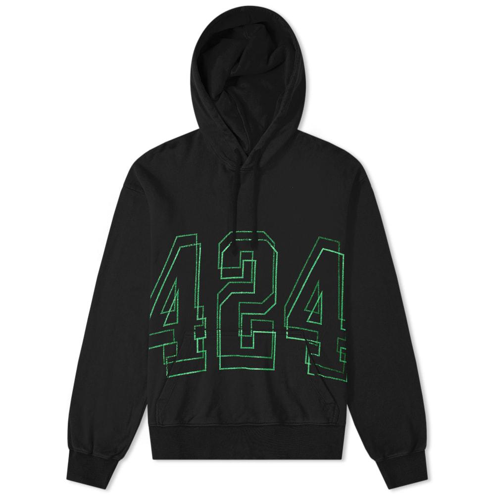 424 Neon Logo Hoody by 424