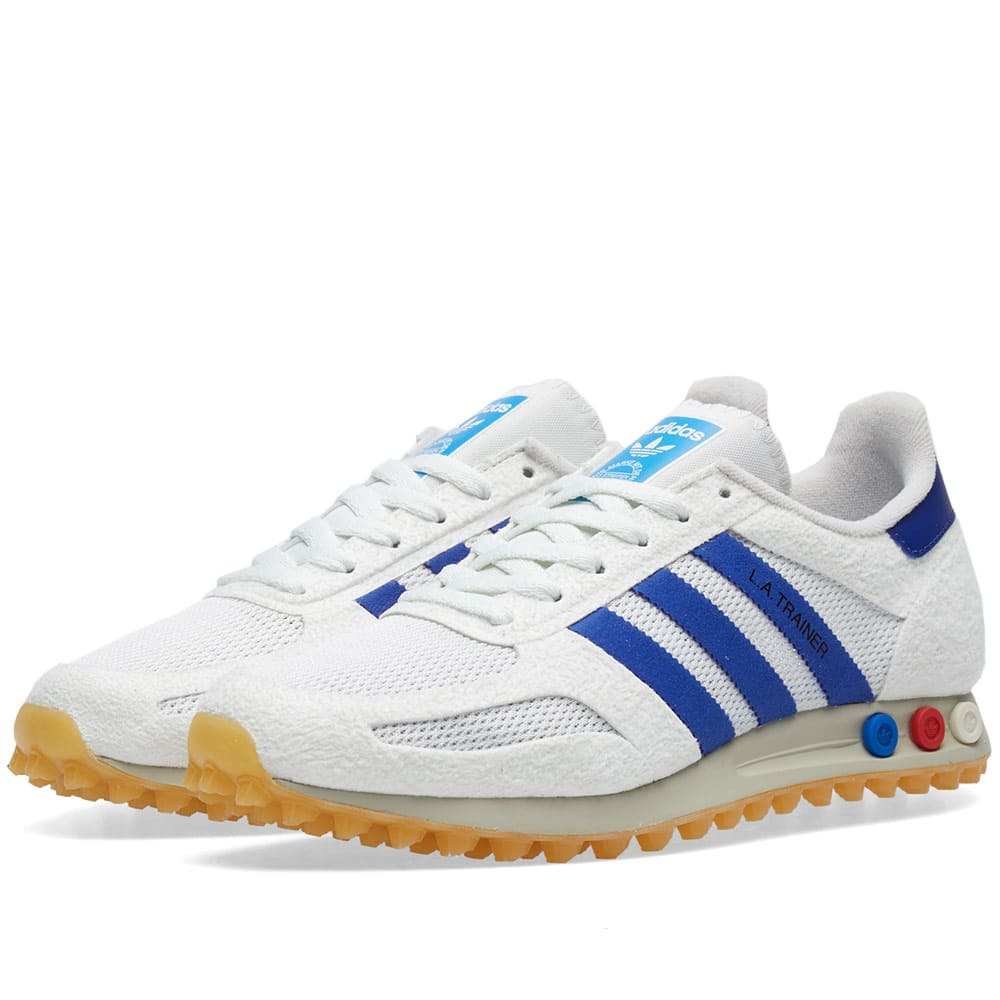 cd68529e66b3 adidas LA Trainer OG Vinted White/ Mystery Ink/ Gum | BY9319 | FOOTY.COM