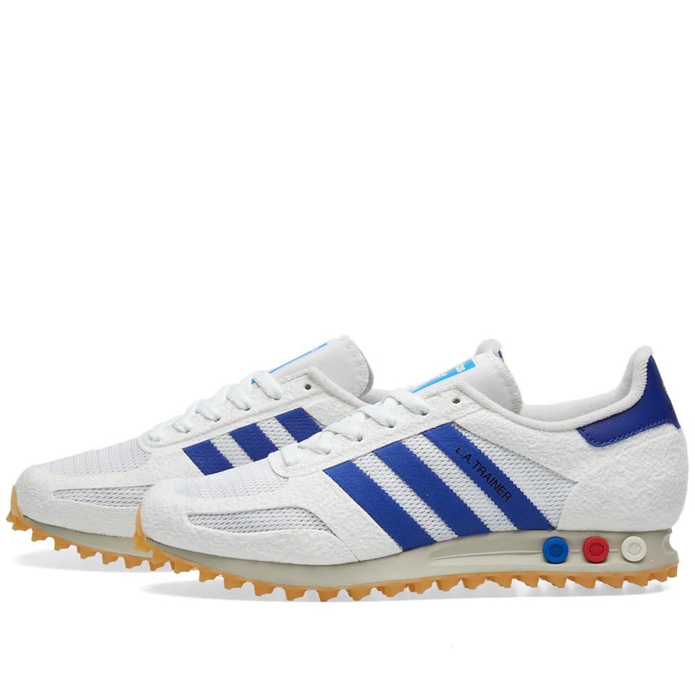 800064c4e Adidas LA Trainer OG Vintage White & Blue | END.