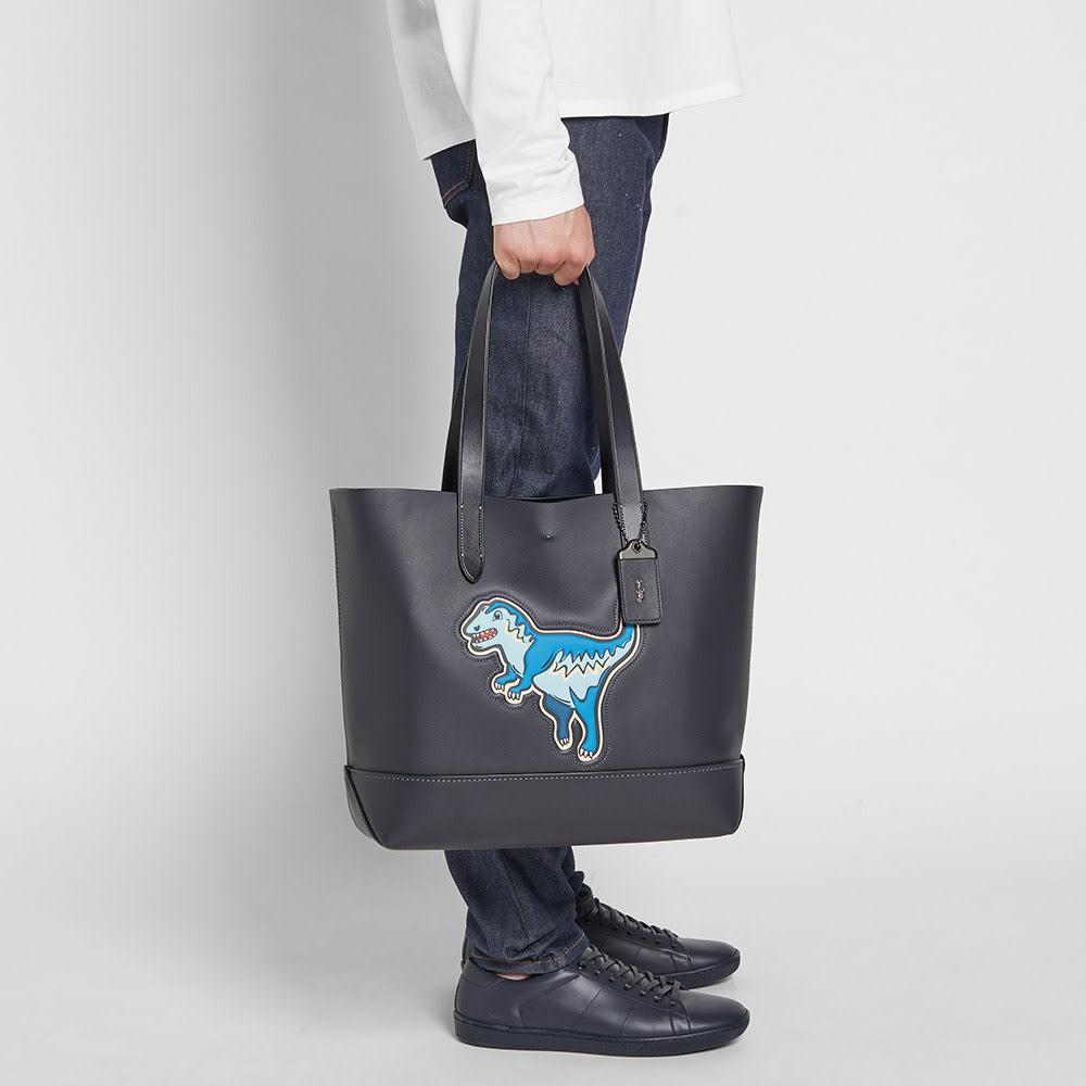 066177714 Coach Rexy Gotham Tote Bag Navy & Black   END.