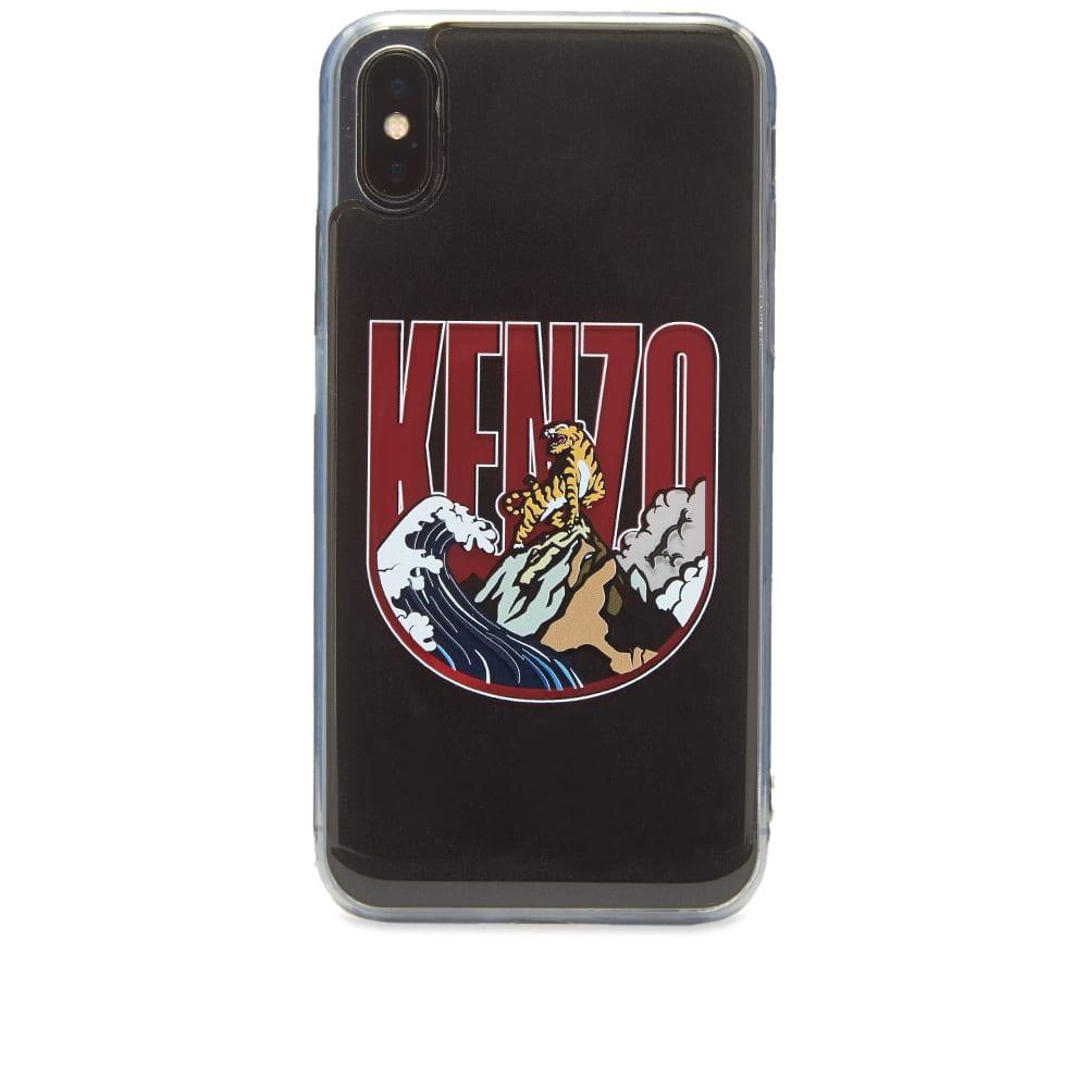 size 40 2d6ea 6739e Kenzo iPhone X/XS Wave Logo Case