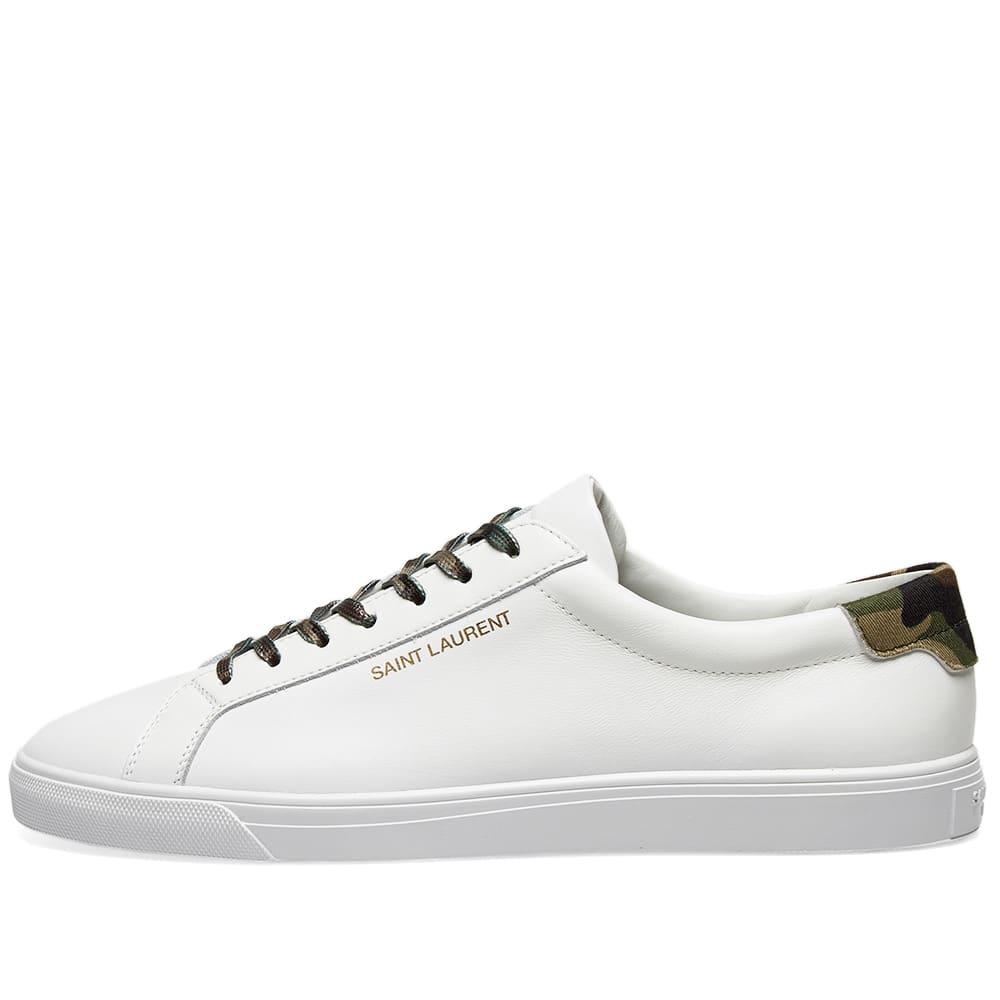 94c1ee62 Saint Laurent Andy Signature Camo Sneaker