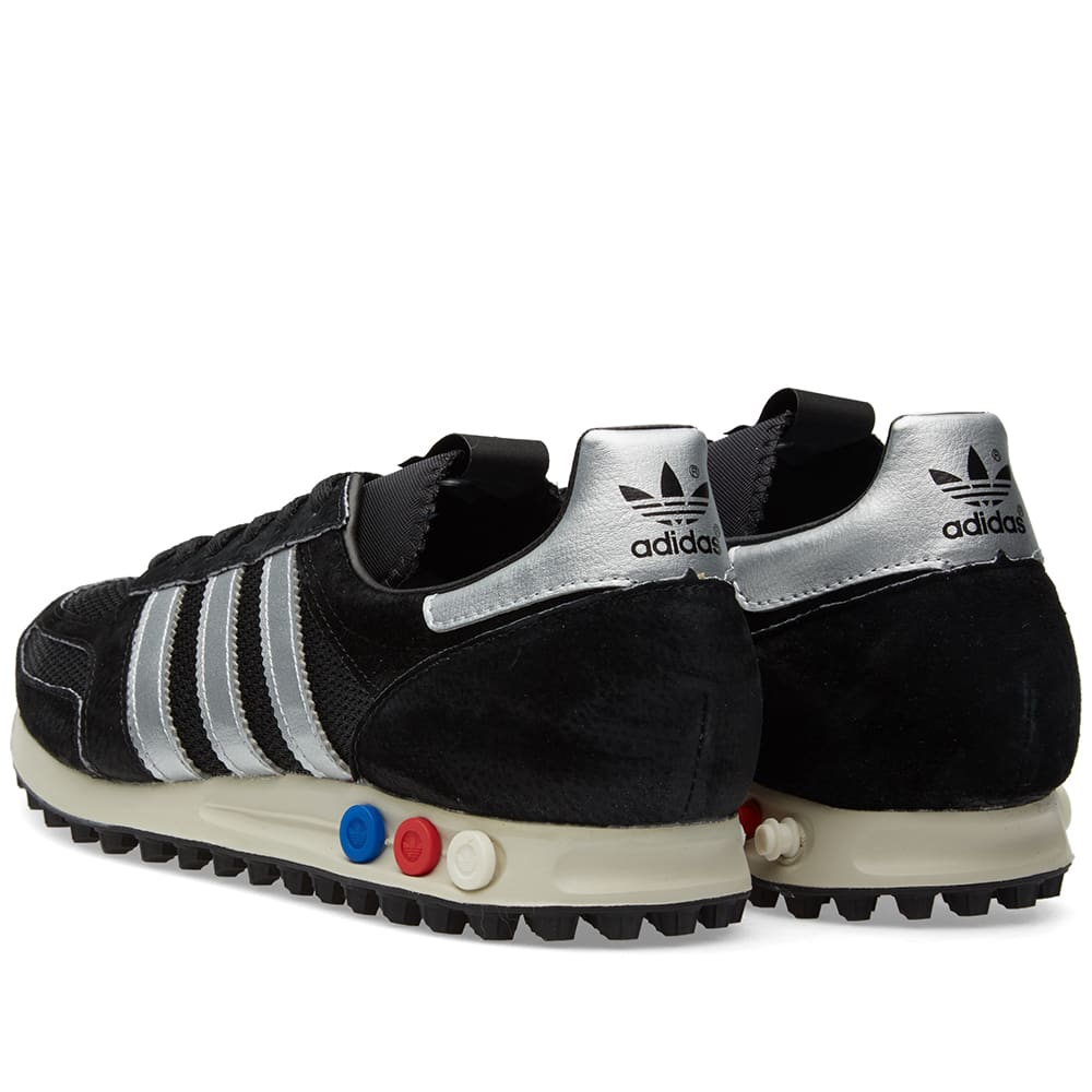 Cinco Apretar Oriental  Adidas Consortium LA Trainer OG - Made in Germany Black & Lush Red | END.