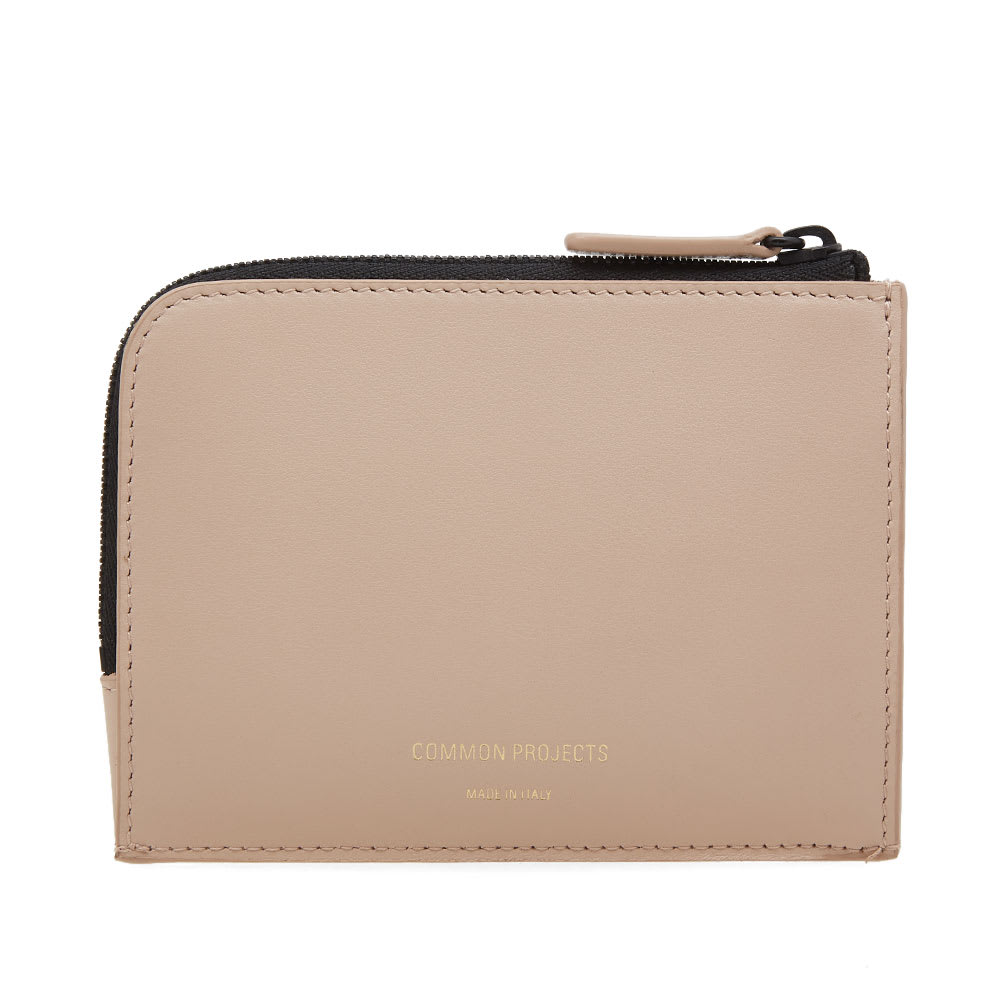 COMMON PROJECTS SOFT LEATHER ZIPPER WALLET