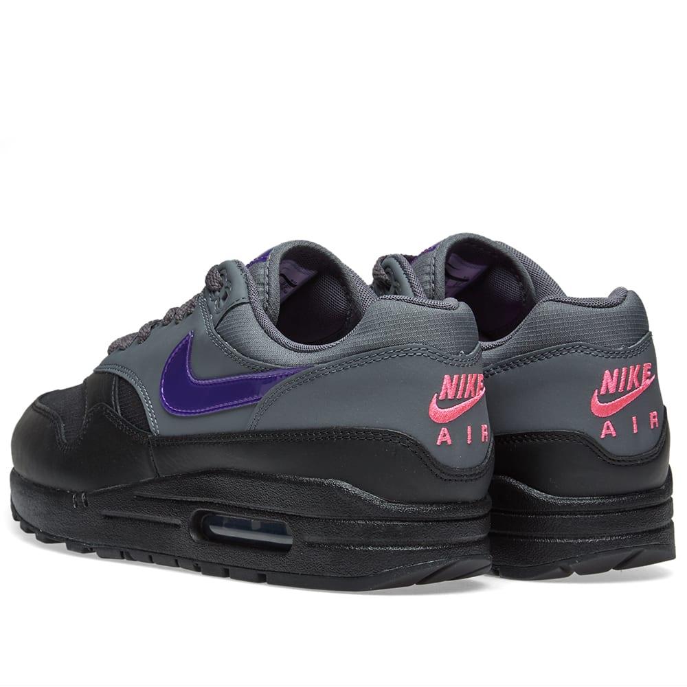 the latest 232e9 8d178 Nike Air Max 1 Dark Grey, Purple   Pink   END. nike air max