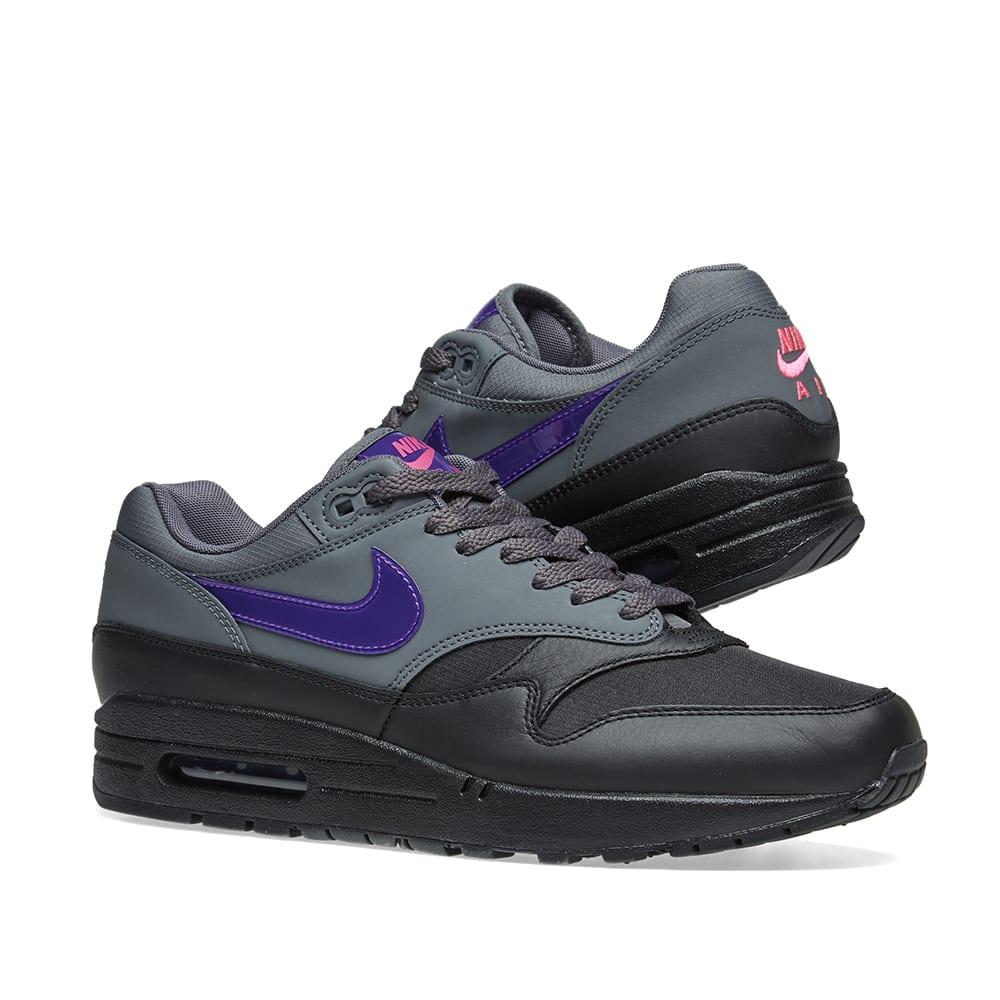 timeless design bc810 cc152 Nike Air Max 1 Dark Grey, Purple   Pink   END.