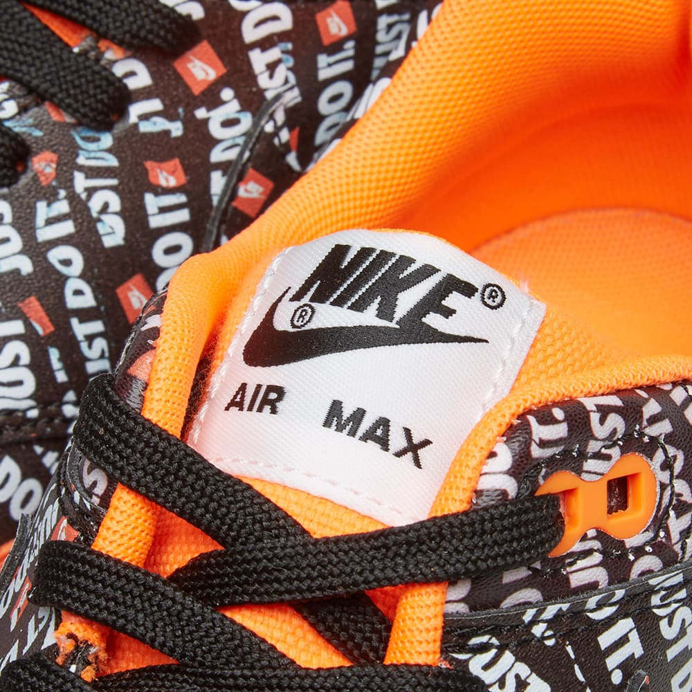 innovative design 9ad37 3249e Nike Air Max 1 Premium Black, Orange   White   END.
