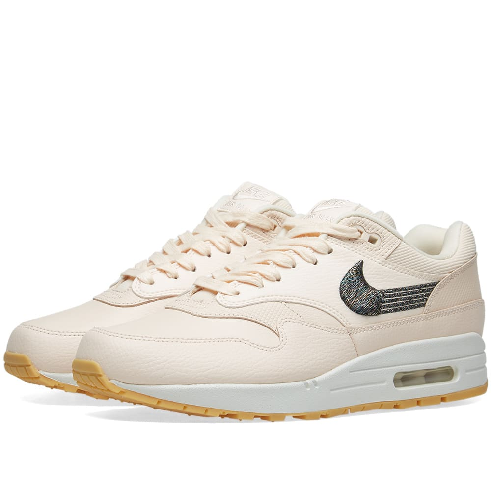 low priced d251b 8791d Nike Air Max 1 Premium W Guava Ice   Gum Yellow   END.