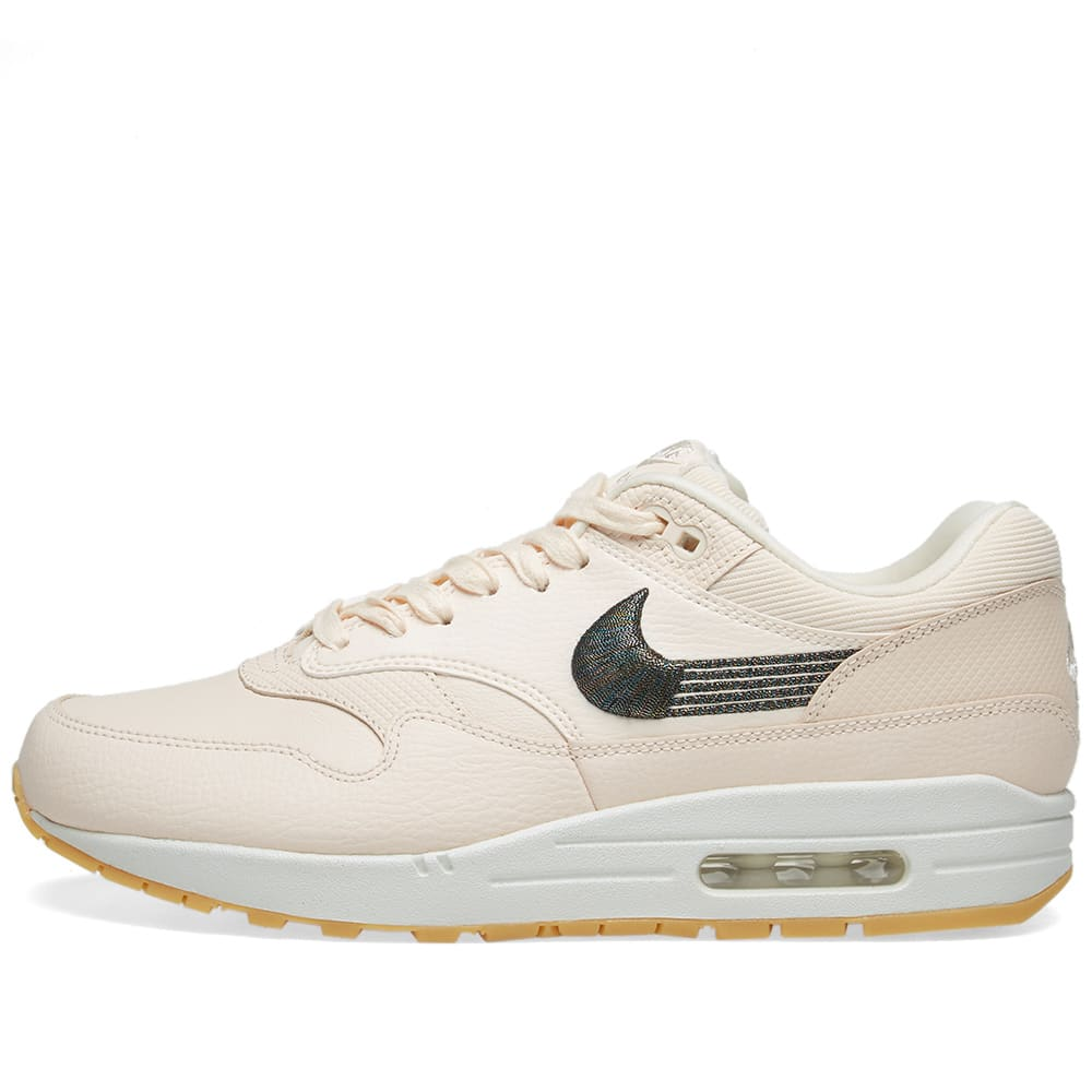 low priced d5c13 4dd30 Nike Air Max 1 Premium W Guava Ice   Gum Yellow   END.