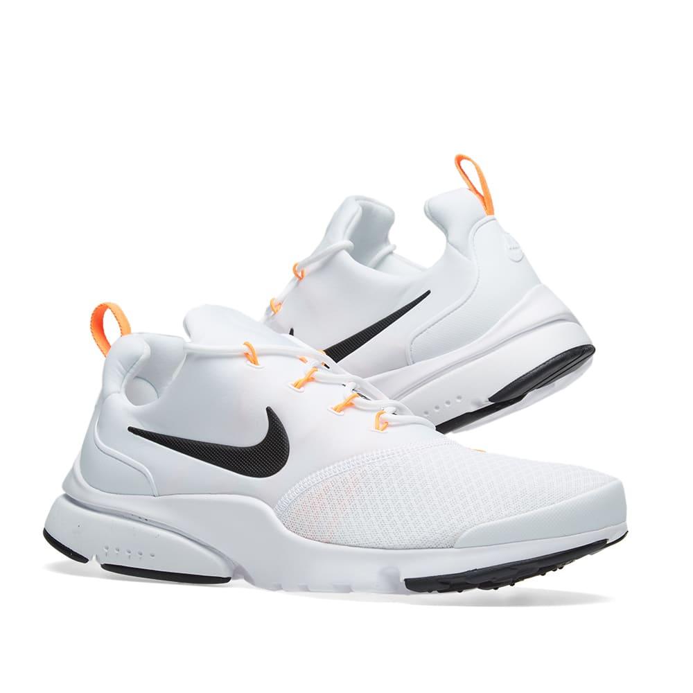 Imperio Inca Evolucionar capacidad  Nike Presto Fly JDI White, Black & Orange | END.