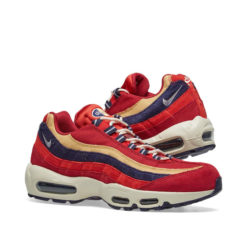 2341cafb44 Nike Air Max 95 Premium. Red ...
