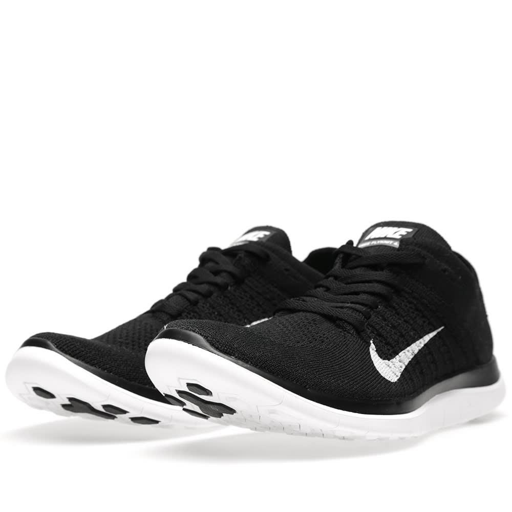 0d39b0d811df Nike Free 4.0 Flyknit Black