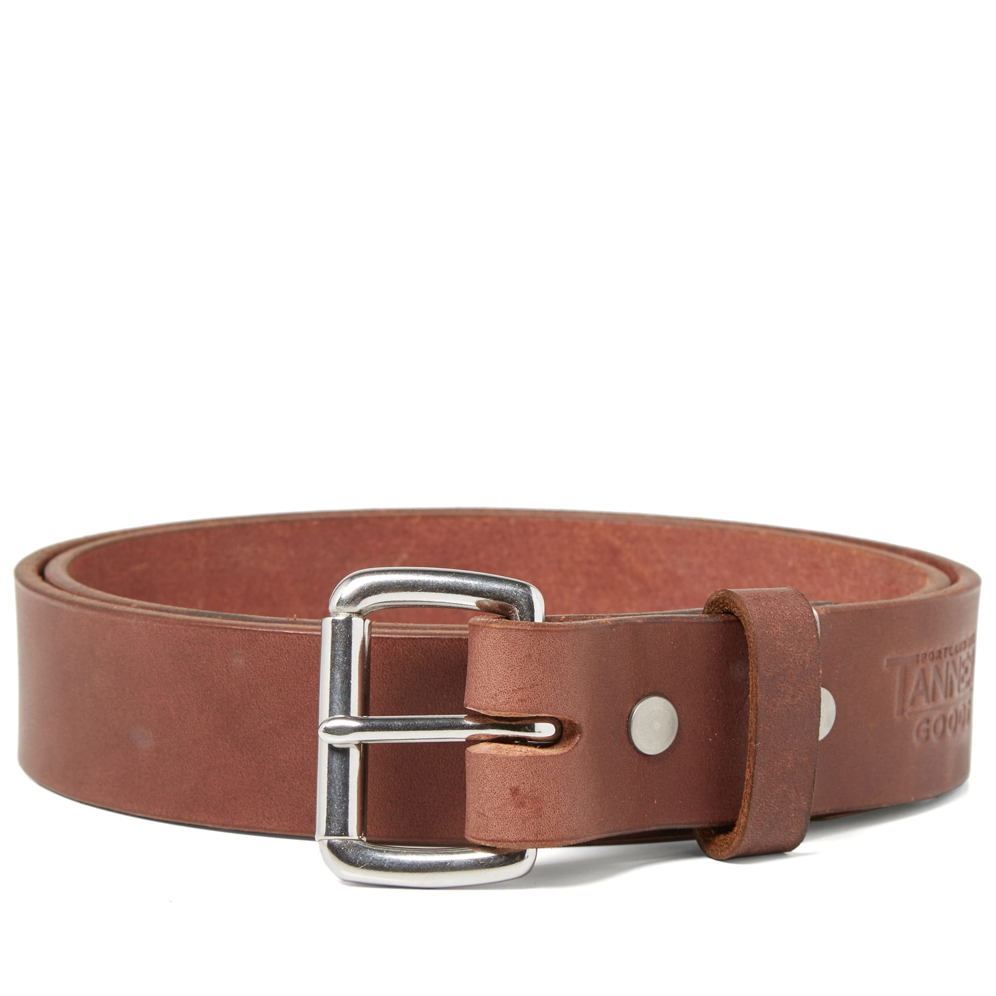 TANNER GOODS Tanner Goods Standard Belt in Brown