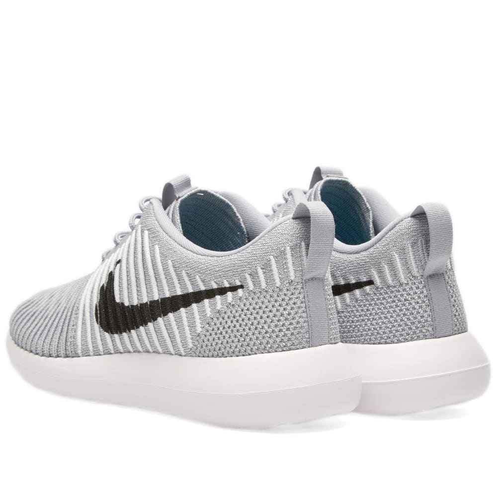 save off 01fee 159cd Nike Roshe Two Flyknit Wolf Grey   Black   END.