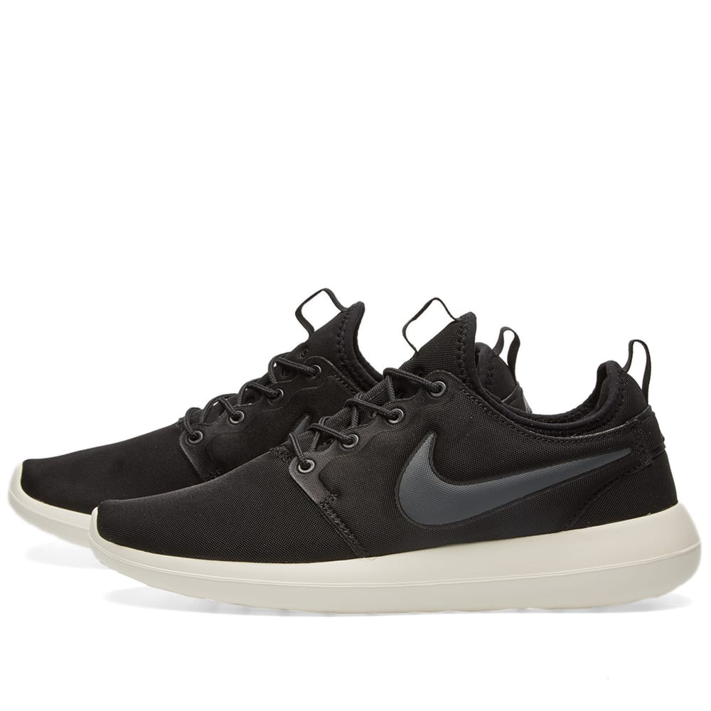 Nike W Roshe Two (Black, Anthracite & Sail)