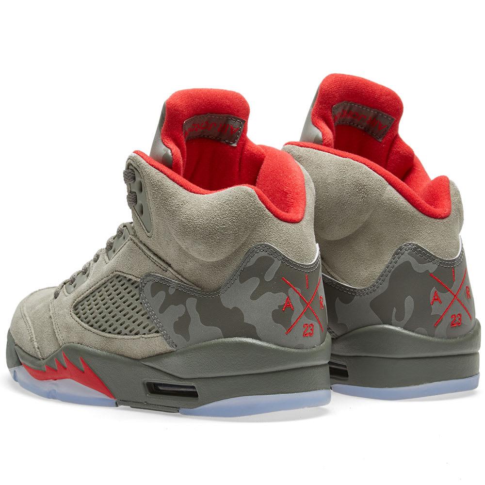 a7338e27f297 Nike Air Jordan 5 Retro Dark Stucco
