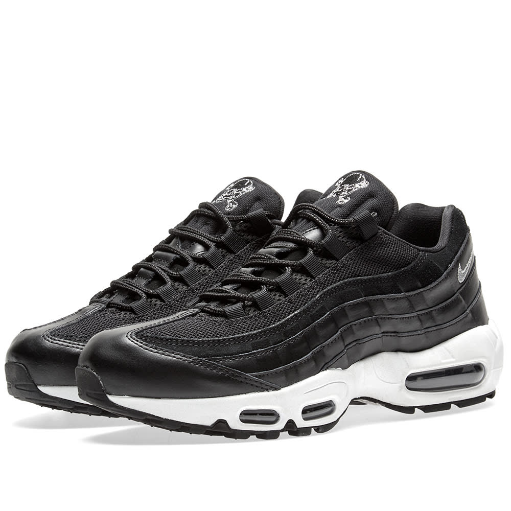 new products 25386 2005f Nike Air Max 95 Premium Black   Chrome   END.