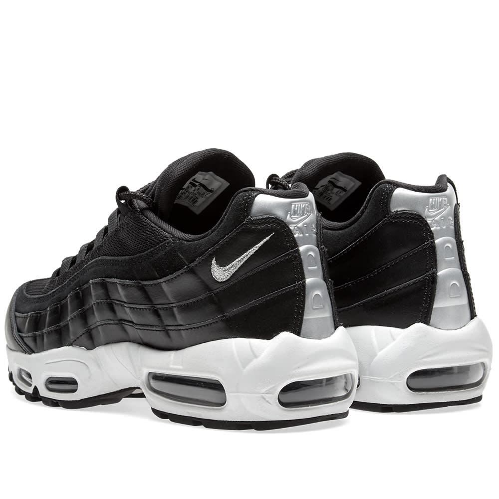 f8054156f1a Nike Air Max 95 Premium Black   Chrome
