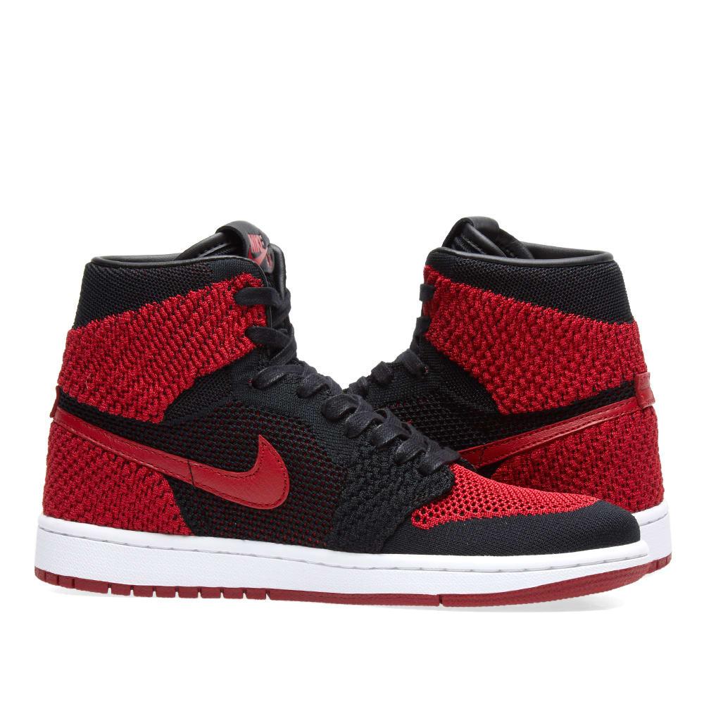 separation shoes da1f9 1dcee Nike Zoom Air Jordan 1 Retro High Flyknit GS