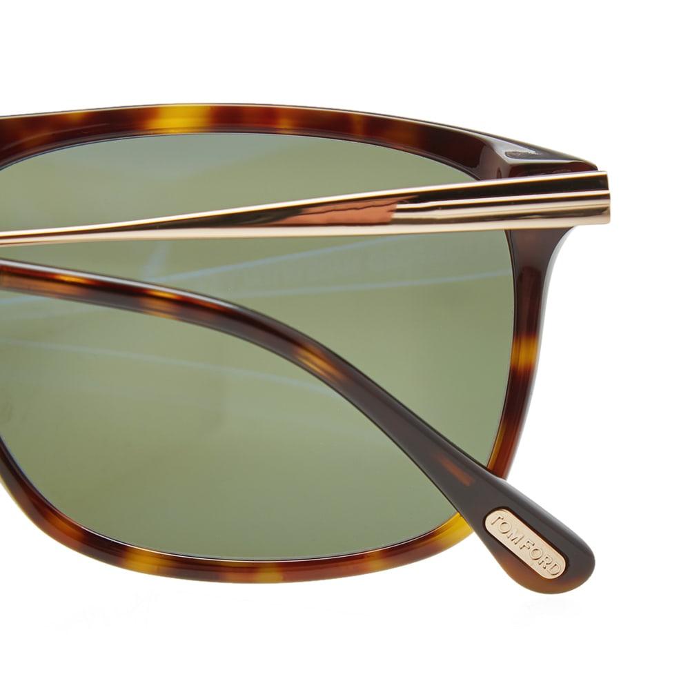 62ef781dc91a Tom Ford FT0588 Max-02 Sunglasses Dark Havana   Green Polarized