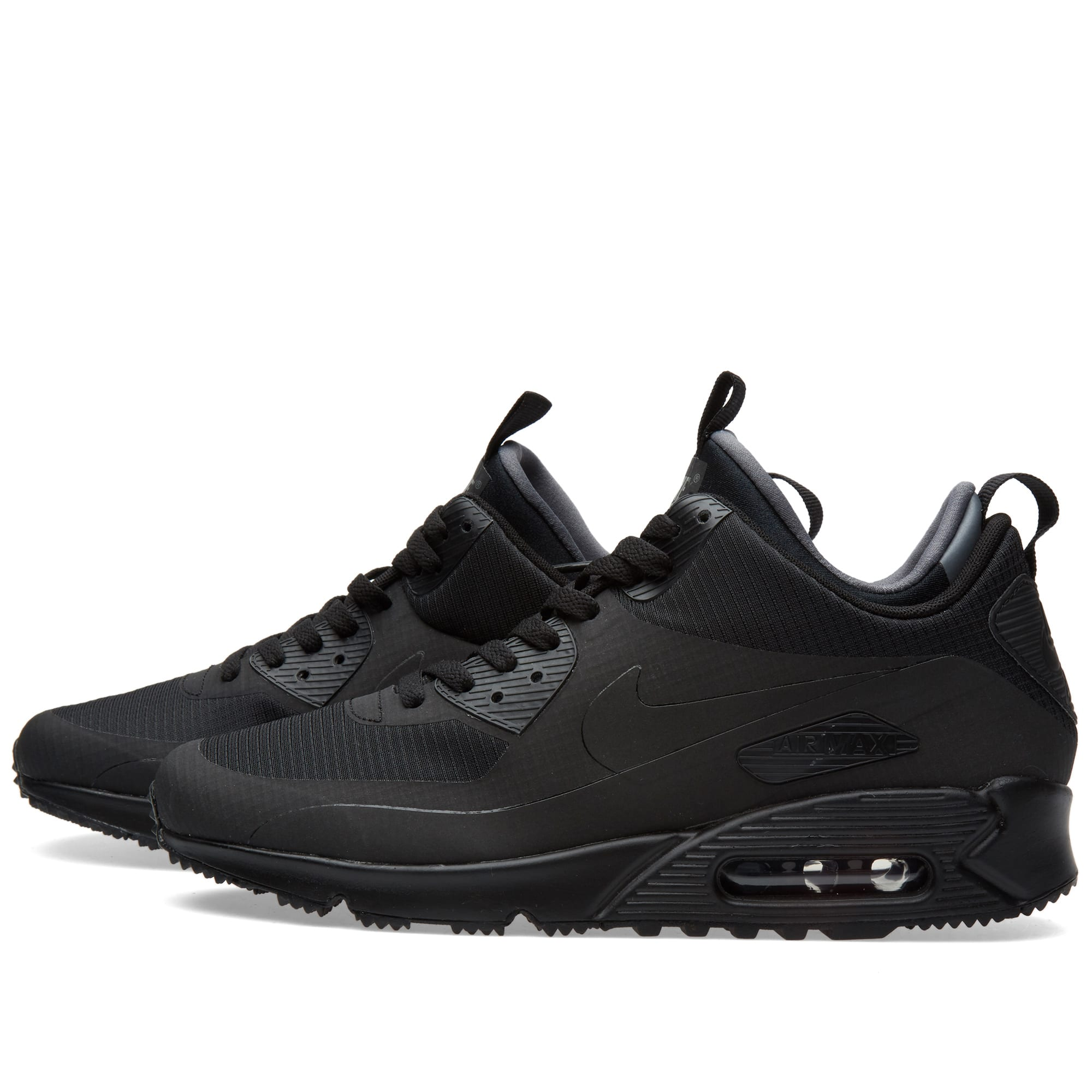 nike air max 90 mid winter black. Black Bedroom Furniture Sets. Home Design Ideas