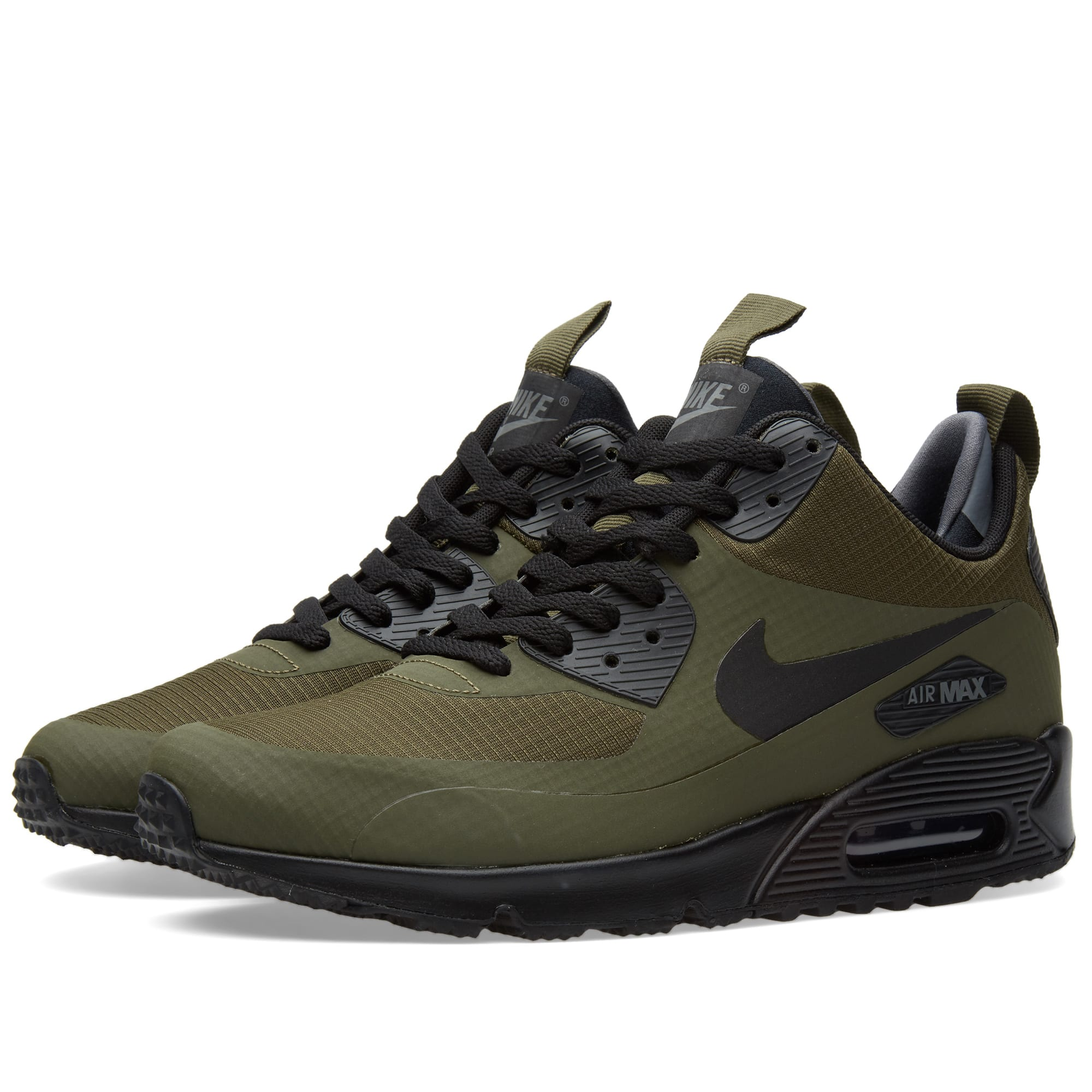 nike air max 90 mid winter dark loden black. Black Bedroom Furniture Sets. Home Design Ideas