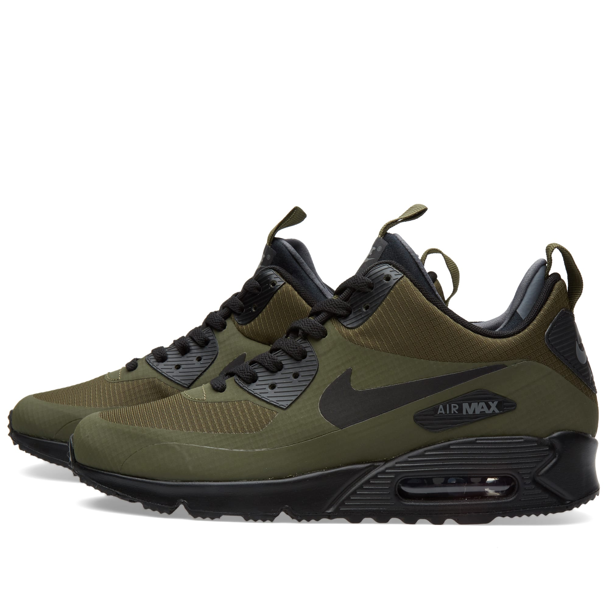 best loved a5c27 61a32 Nike Air Max 90 Mid Winter Dark Loden   Black   END.