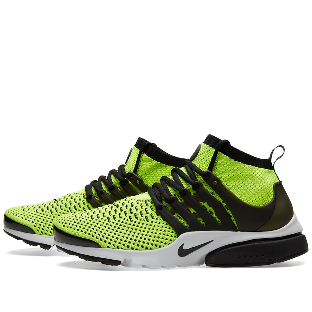 new style b5e09 71ee4 Nike Air Presto Ultra Flyknit Volt, Black   White   END.