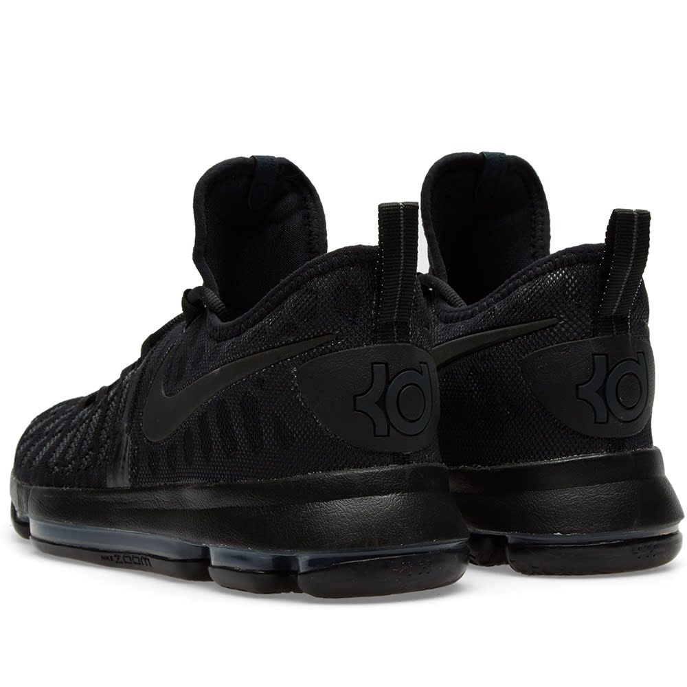 a29e1ee94143 Nike Zoom KD 9 Black   Anthracite