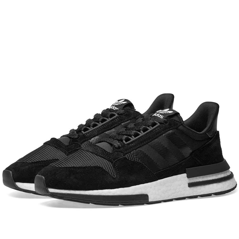 lowest price 358ed 2e68a Adidas ZX 500 RM Core Black   White   END.