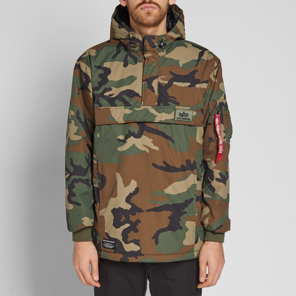 more photos 692f5 fa0d4 Alpha Industries WP Anorak