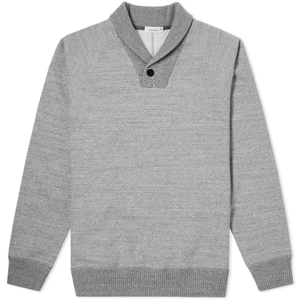 NANAMICA Nanamica Shawl Collar Sweat in Grey