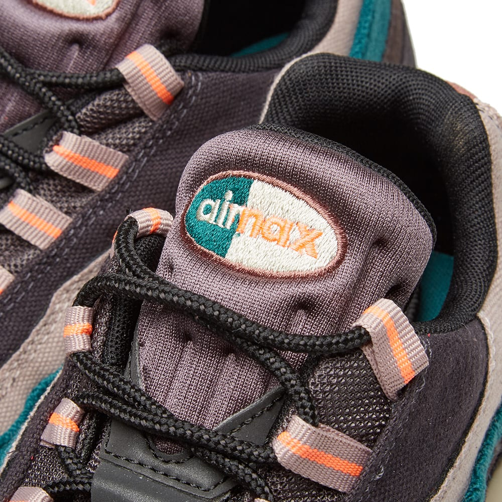 buy online 3ed72 8e51d Nike Air Max 95 Premium Grey, Mango   Rainforest   END.