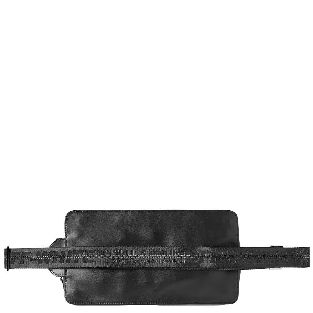 e3a81866b Off-White Leather Hip Bag Black & White | END.
