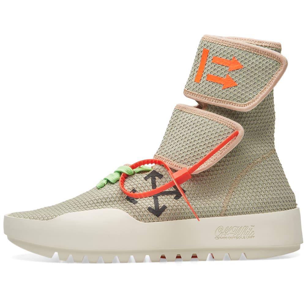 da0a21dcf659 Off-White Motowrap Sneaker Lighter Grey