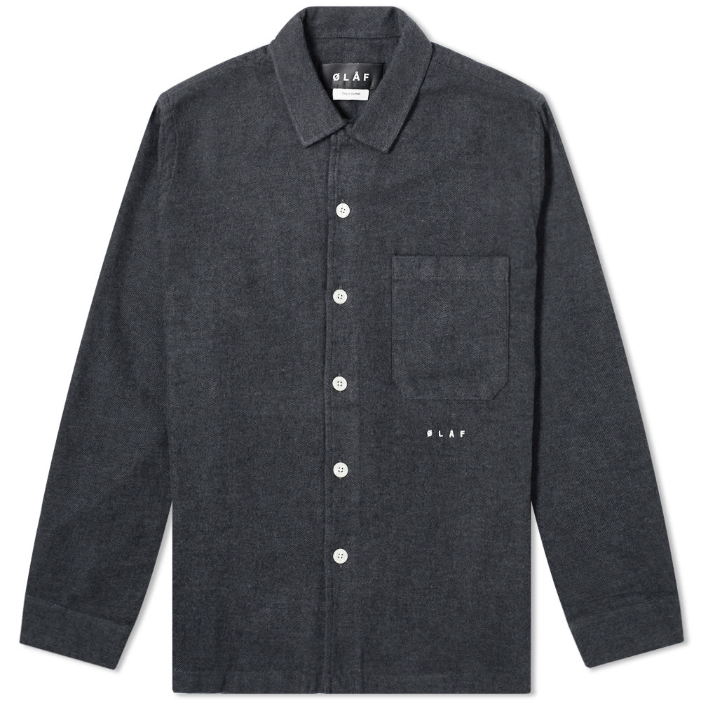 Olaf Hussein Flannel Overshirt by Olaf Hussein