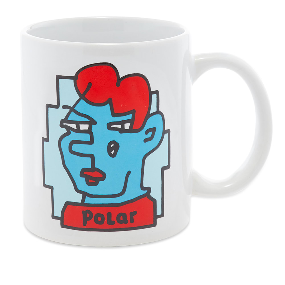 Showcase Pontus Alvs Quirky Artwork Every Time You Go For A Hot Beverage With This Doodle Face Mug White End