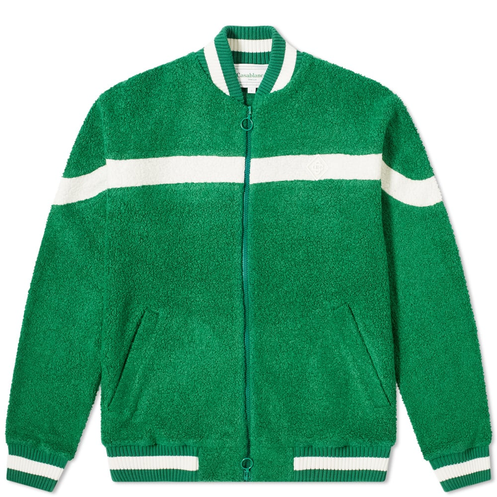 Casablanca Casablanca Cashmere Terry Cloth Track Top