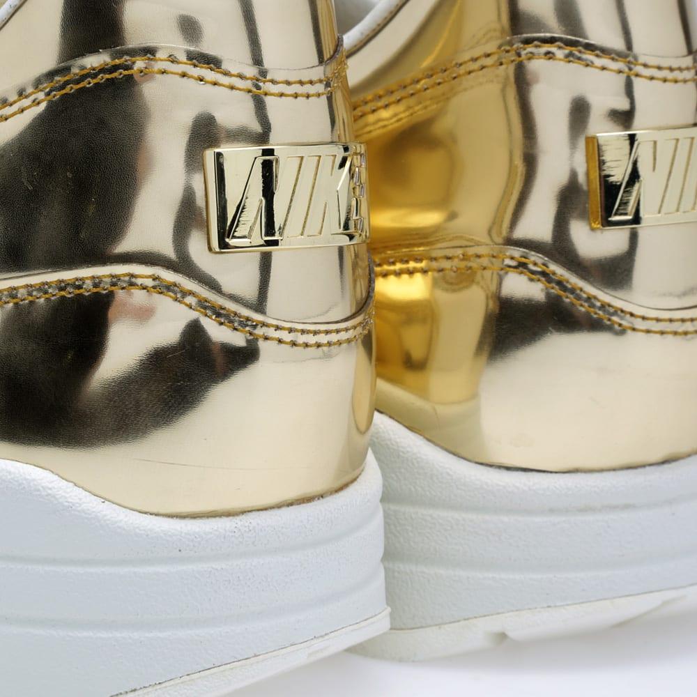 best service 04eb5 ac5fe Nike Air Max 1 SP  Liquid Gold . Metallic Gold