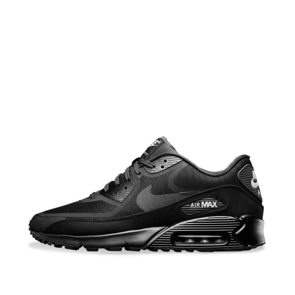 2b3497b3da Nike Air Max 90 Comfort Premium Tape 'Reflective Pack' Black & Metallic  Silver | END.