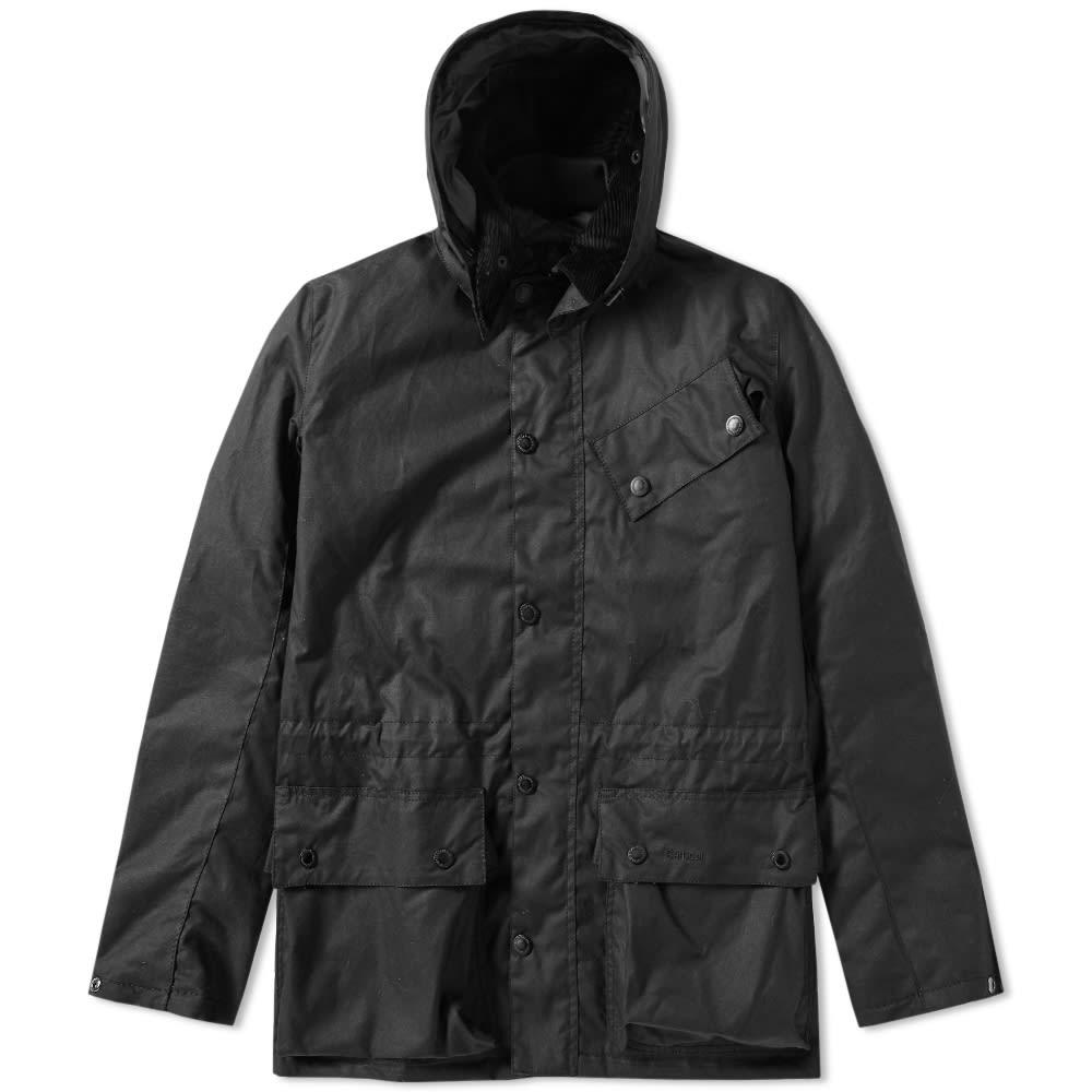 Barbour International Onyx Wax Jacket