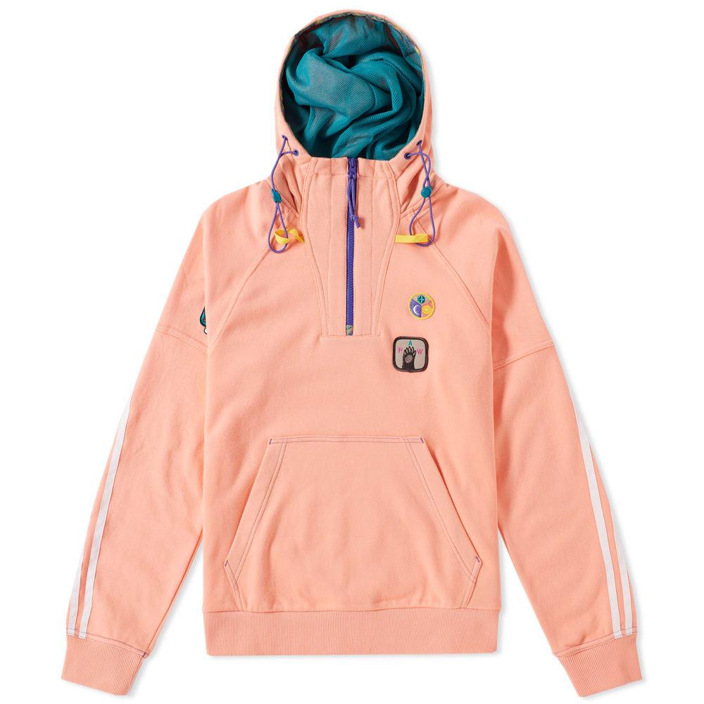 a2fe297ee6767 Adidas x Pharrell HU H Hooded Sweat Sunglow   EQT Green