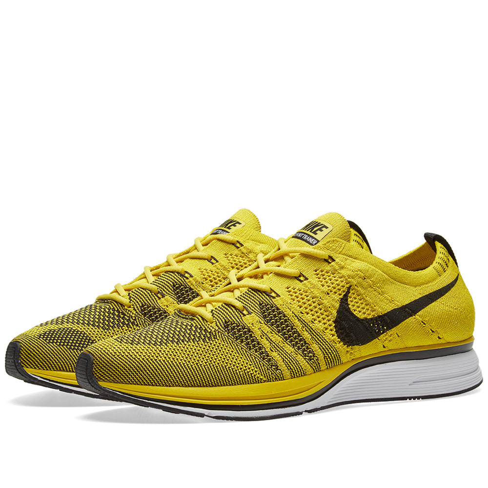 a600b68931d4 Nike Flyknit Trainer Bright Citron