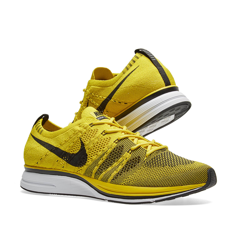 6557686deab74 Nike Flyknit Trainer Bright Citron