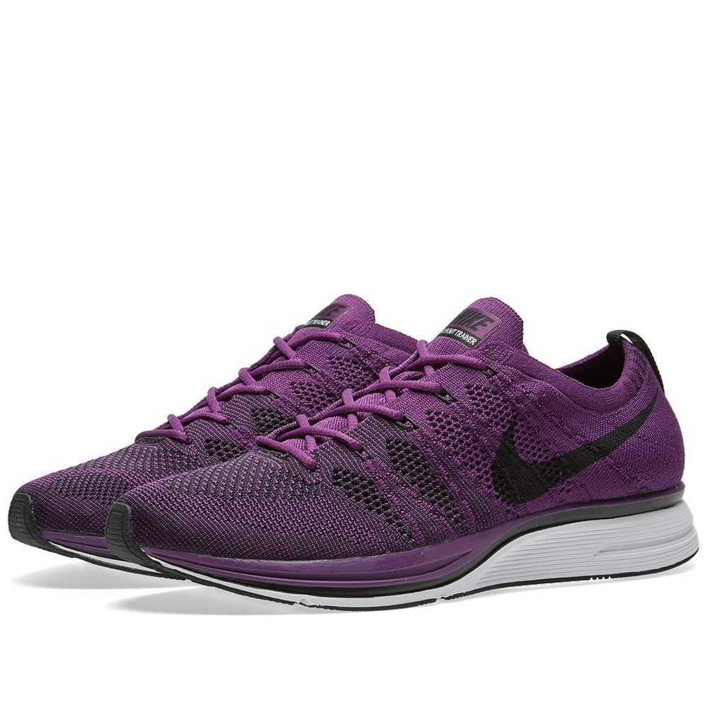 3597cb9faeb59 Nike Flyknit Trainer Night Purple