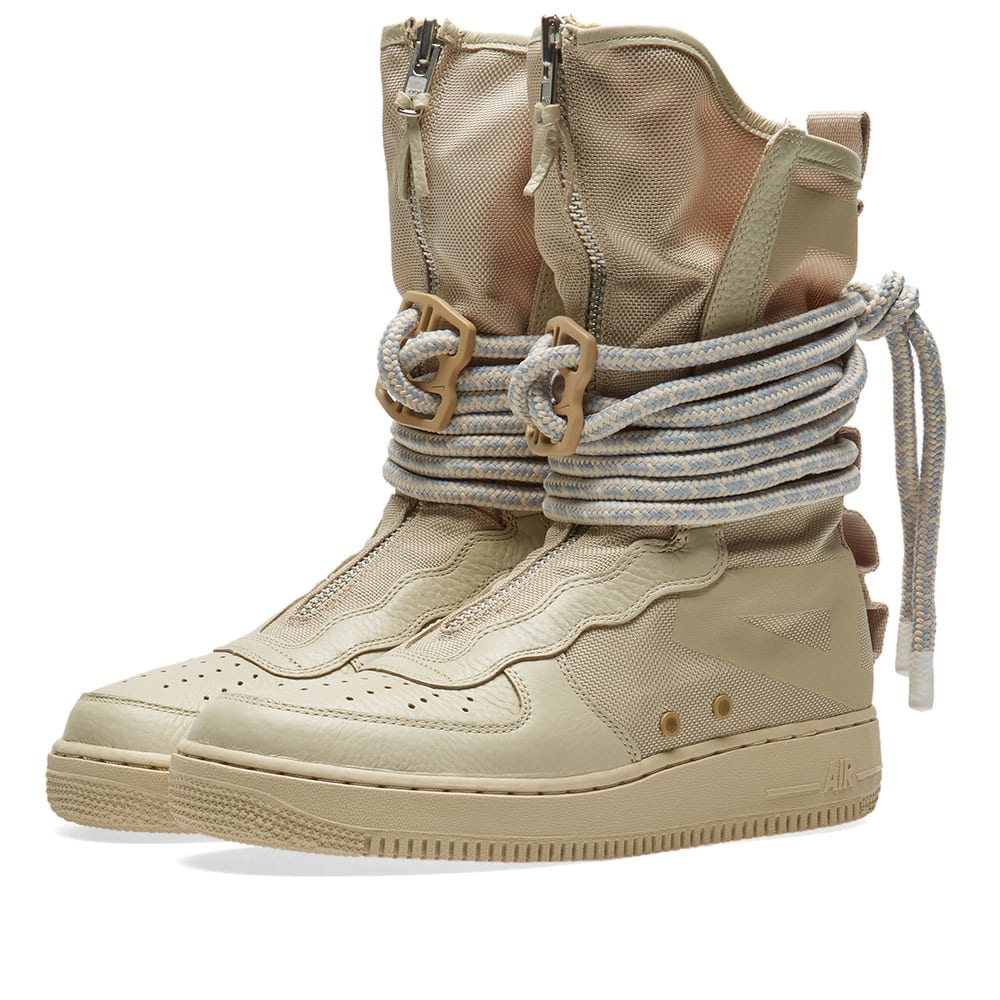 big sale 6b24f a636d Nike SF Air Force 1 Hi W Rattan   White   END.