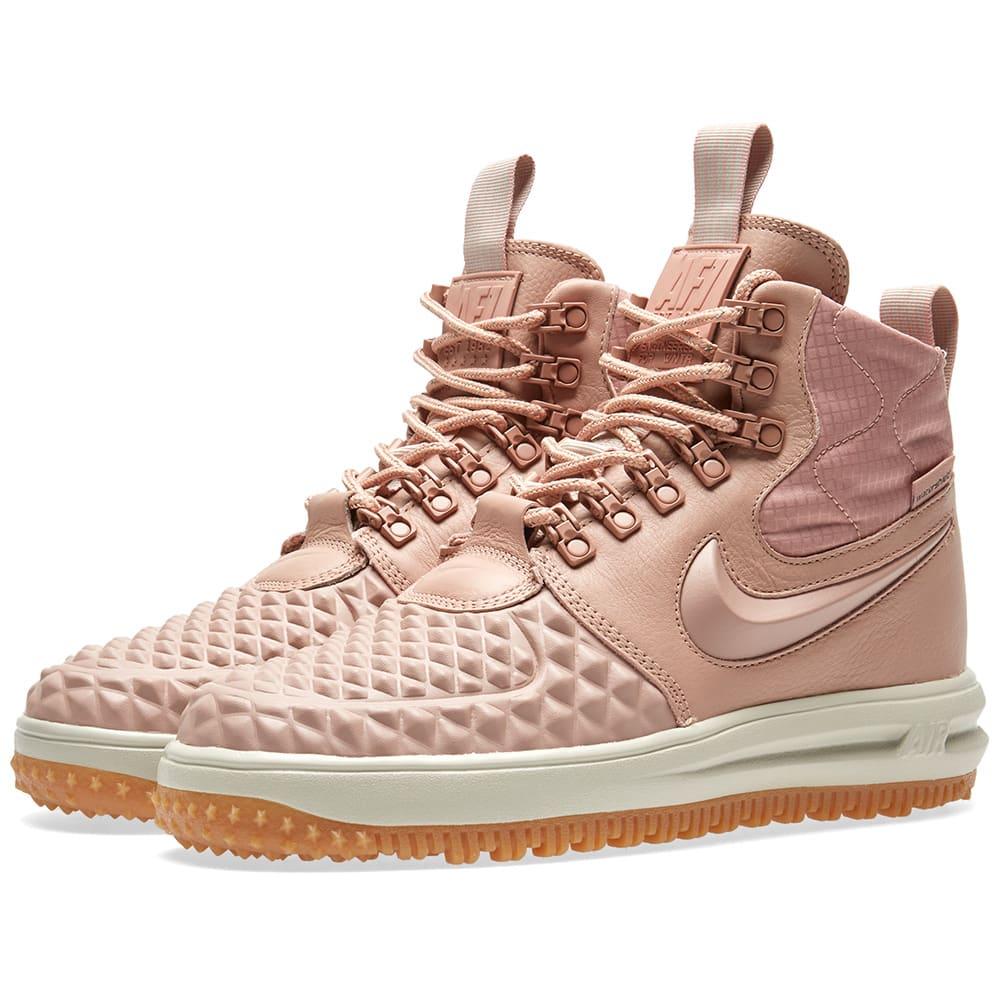 best sneakers 8ebe0 17b1b Nike Lunar Force 1 Duckboot W Particle Pink   END.